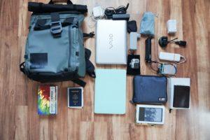 Packing, World Trip, Technology