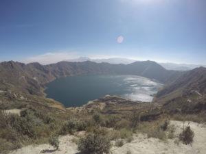 Quilatoa Lake, Ecuador