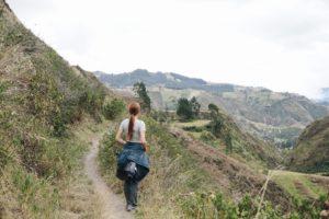 Hiking, Scenery, Quilotoa Loop, Ecuador
