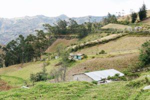Quilotoa, Farm, Ecuador, View