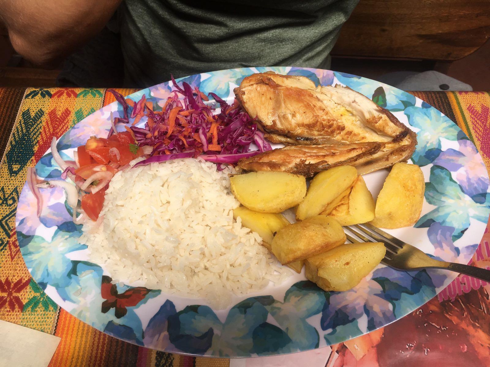 Vegetarian, Almuerzo