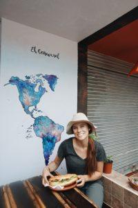 El Canaveral, Mindo, Ecuador, Vegetarian