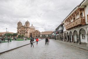 cusco, peru, main plaza