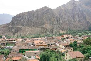Ollantaytambo, Peru, City Views