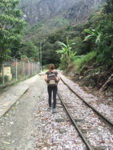 Machu Picchu, Peru, Train Tracks