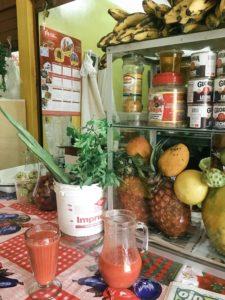 Ollantaytambo, Peru, Market, Fruit Smoothie