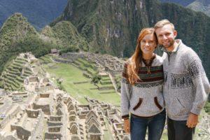 Machu Picchu, Peru, Couple