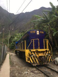 Machu Picchu, Peru, Train