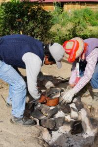 Pachamama Lunch, Oven, BBQ, Urubamba Valley, Ollantaytambo, Peru