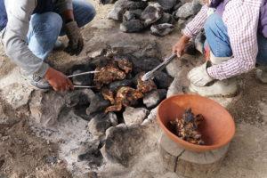 Pachamanca Lunch, Ollantaytambo, Urubamba Valley, Peru, BBQ, Pressure Cooker