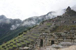 Machu picchu, Terraces, Peru