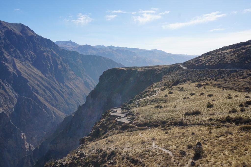 colca canyon, condors, hike, trek