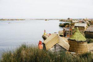 lake Titicaca, floating island