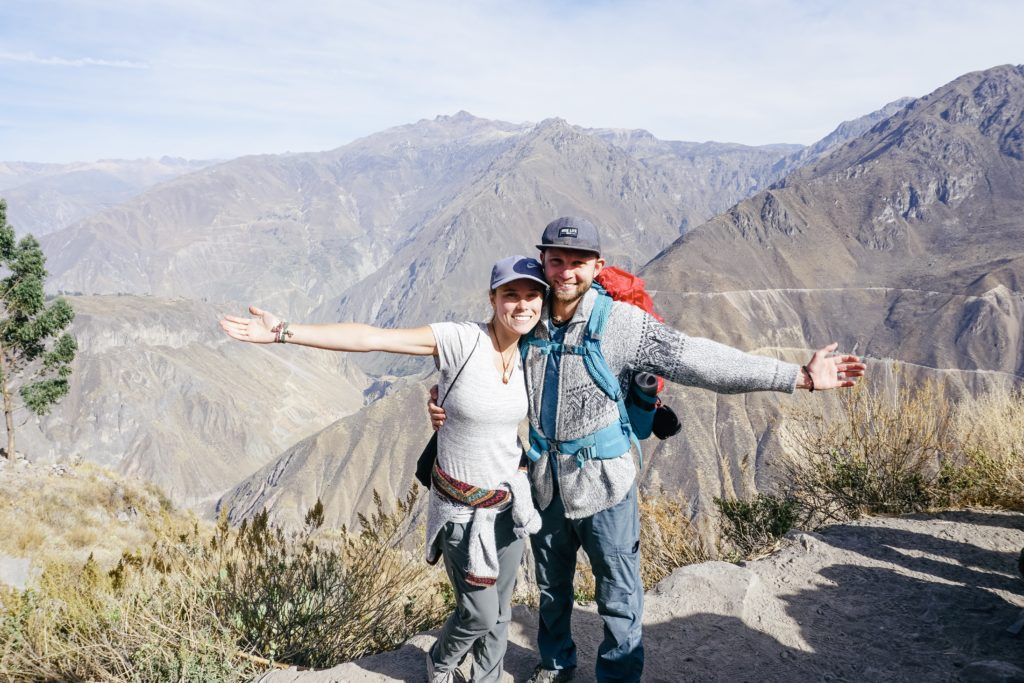 colca canyon, trek