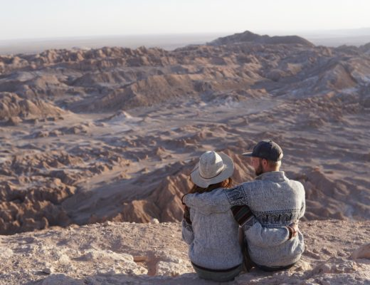 atacama, desert, Chile, couple, travel
